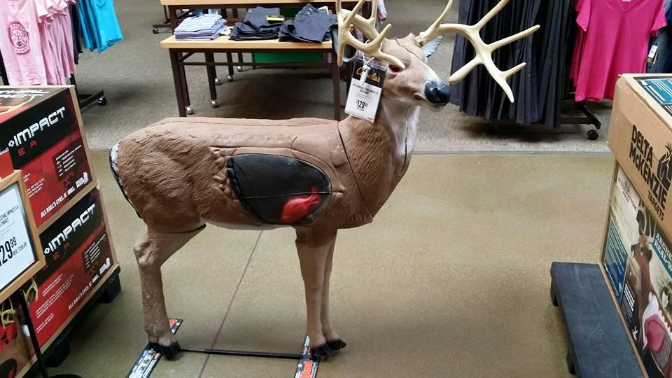 realistisches 3D-Ziel in den USA, im Kaufhaus erhältlich