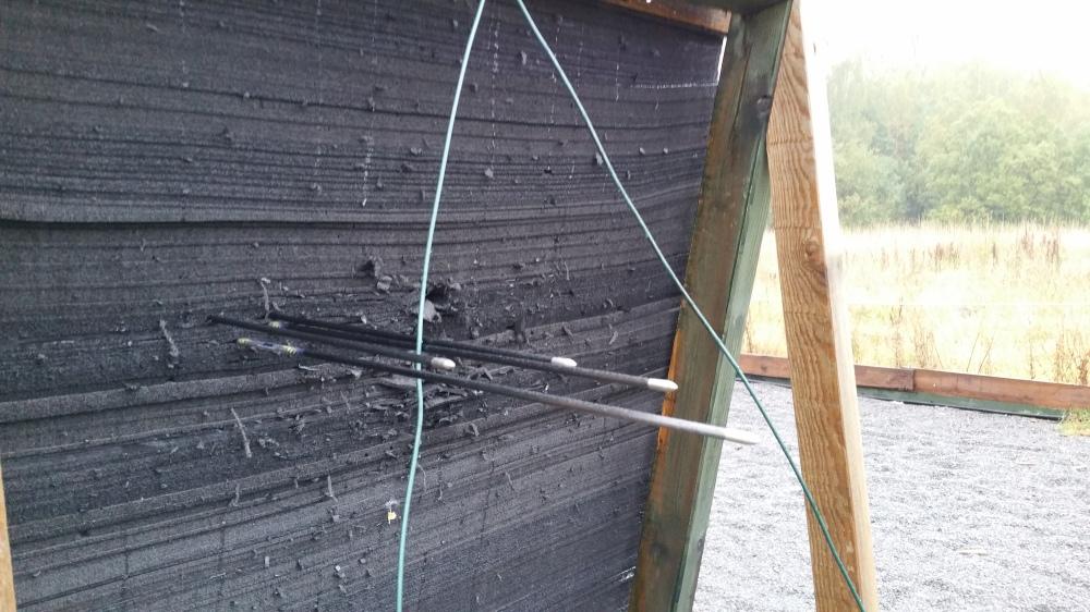 33 # auf 20 m, das hält die Scheibe nicht mehr ... :-D