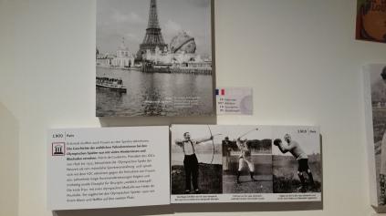 Hotel Glockenspitze: Ausstellung über die Olympischen Spiele